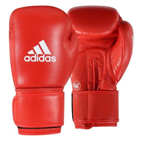 Aiba boks rokavice rdeče