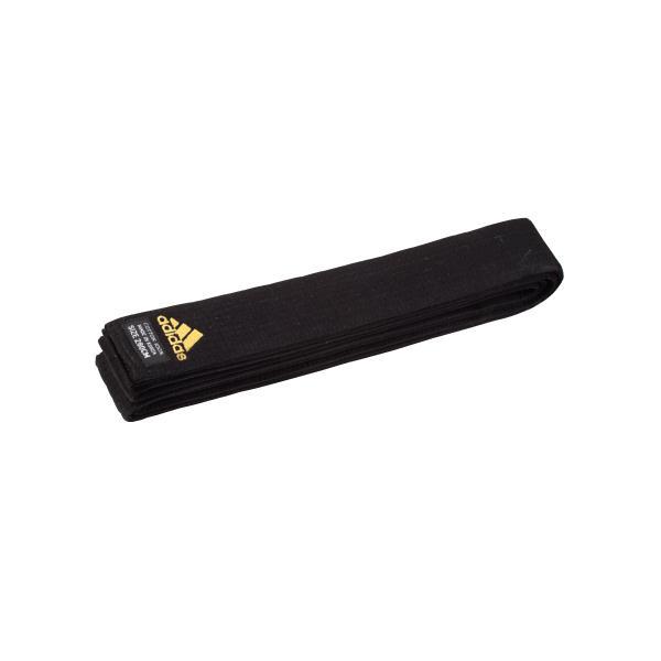 Črn pas za kimono master delux adidas